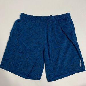 Reebok Blue Basketball Active Shorts